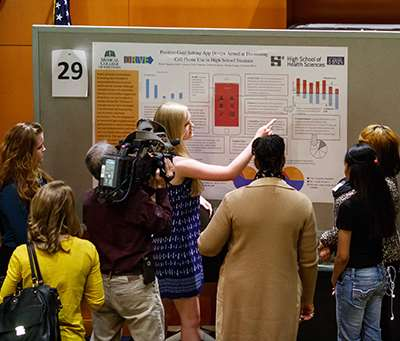 Research poster presentation, 2015