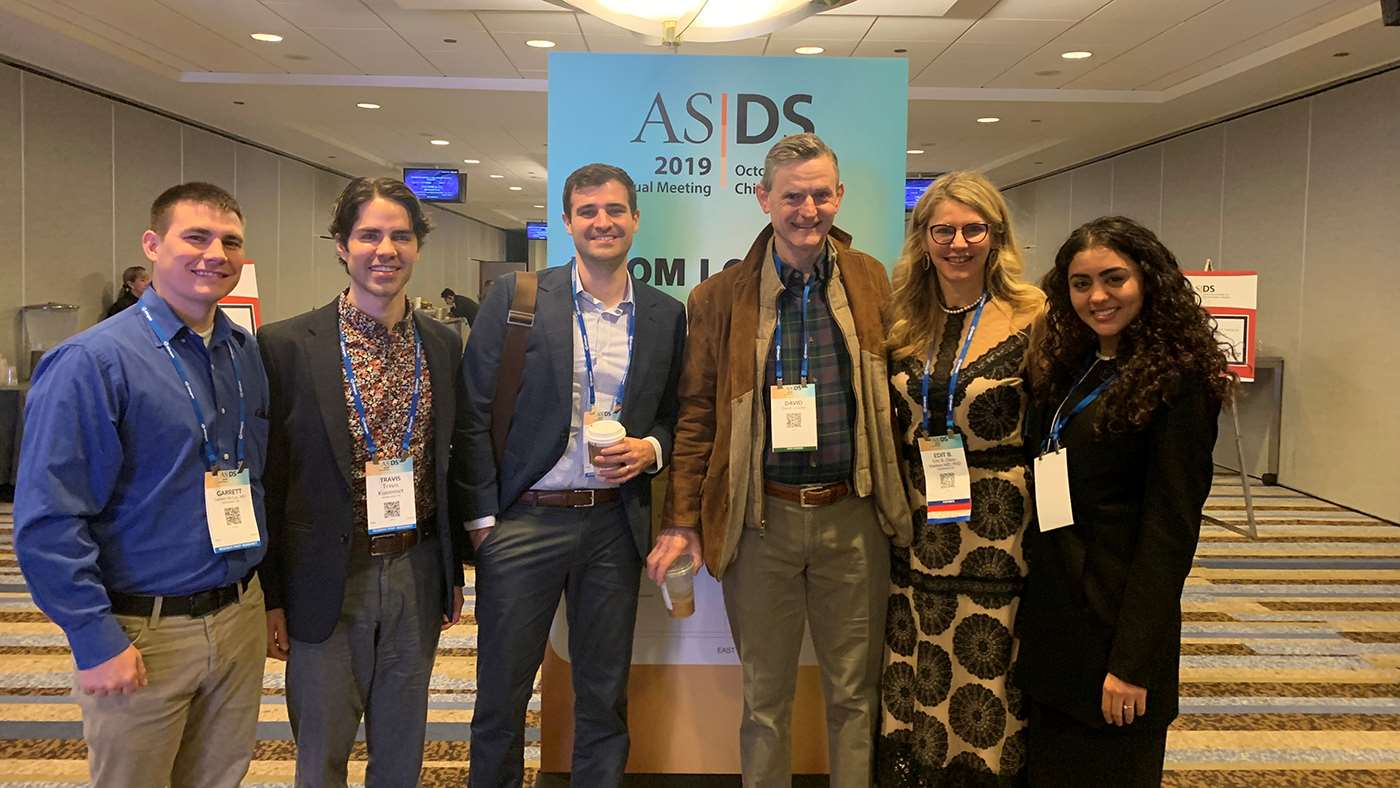 MCW Dermatology residents at 2019 ASDS Meeting