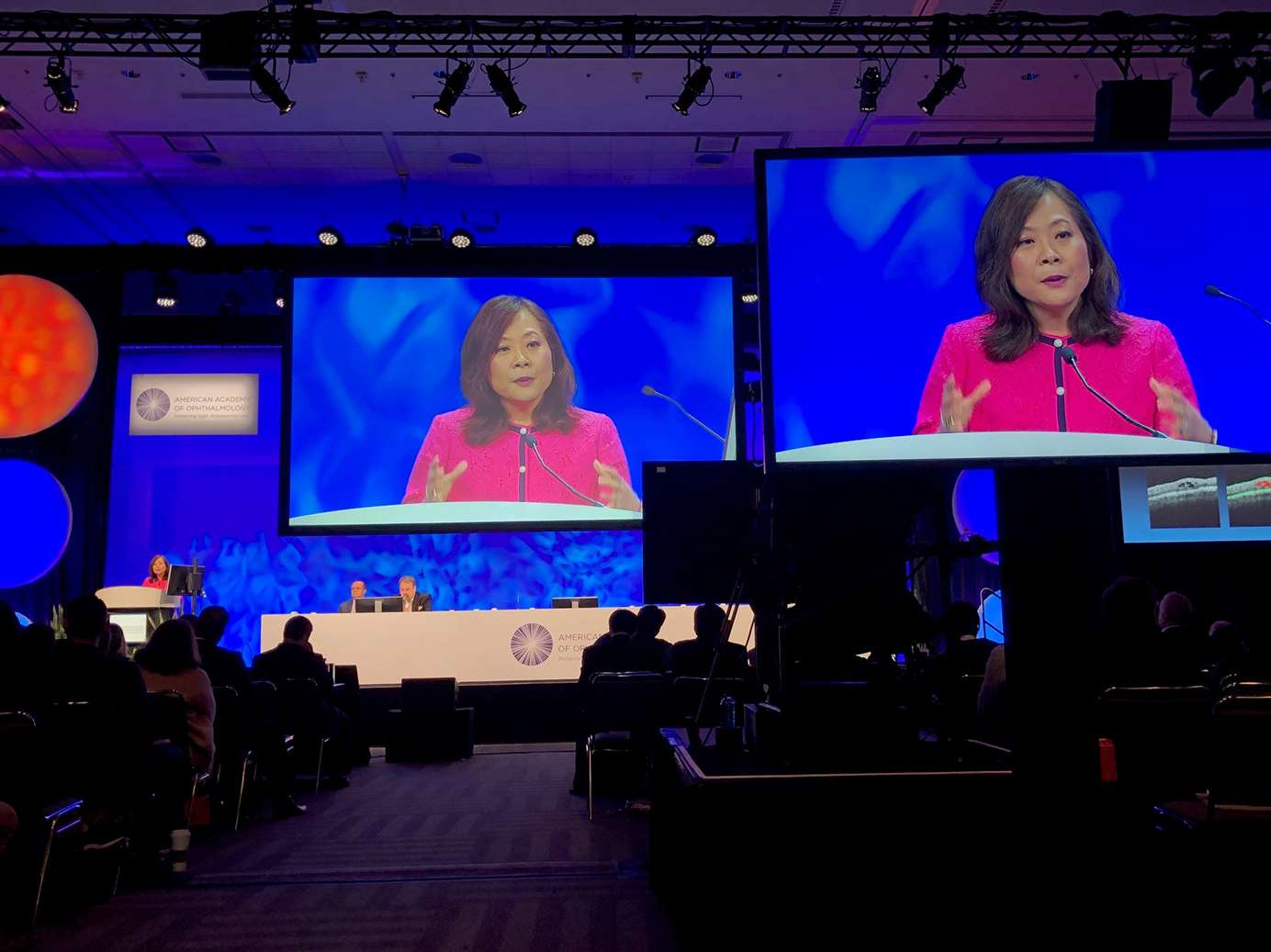 Dr. Judy Kim receives Suzanne Veronneau-Troutman Award and Prize from AAO