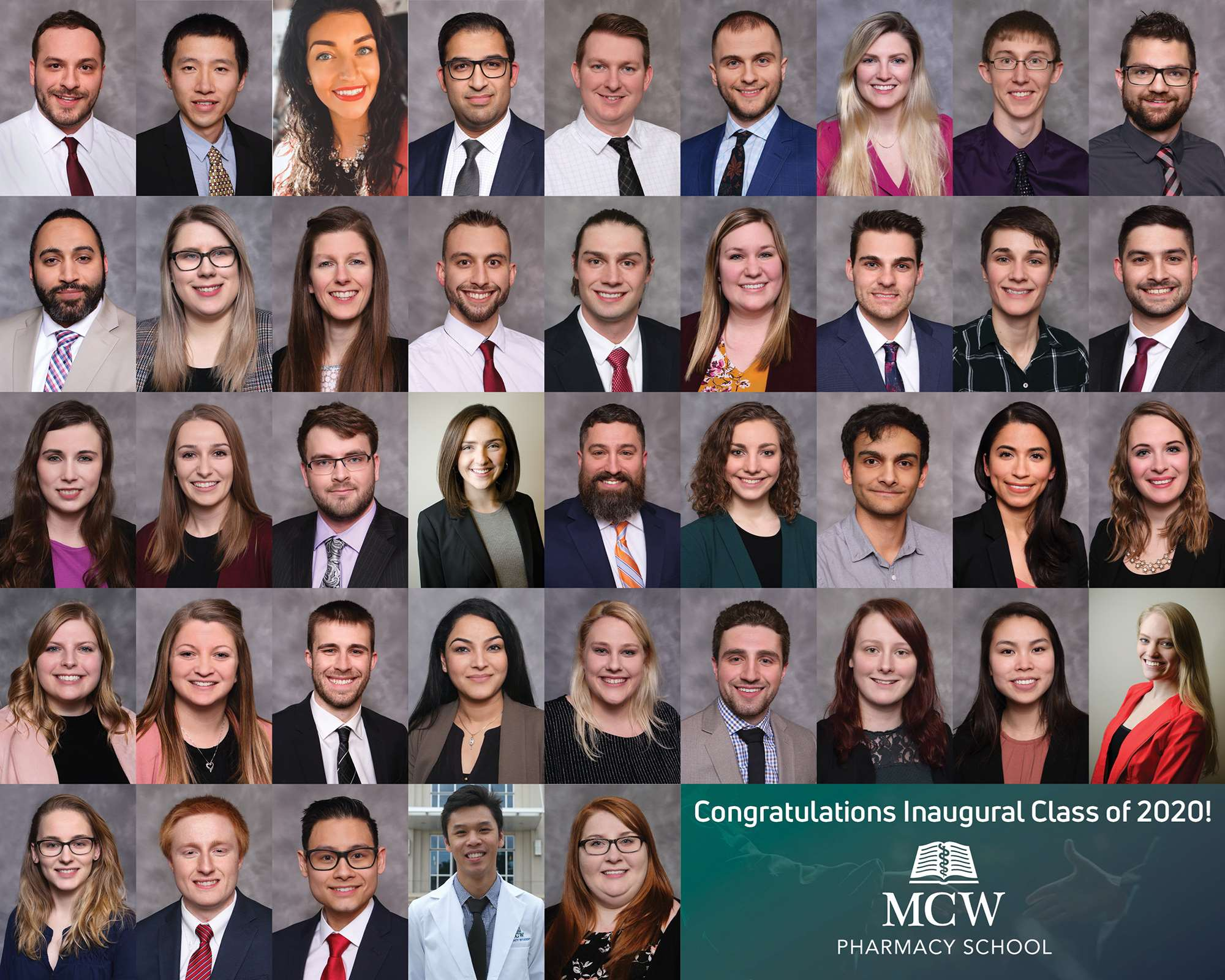 MCW School of Pharmacy Graduates First Class