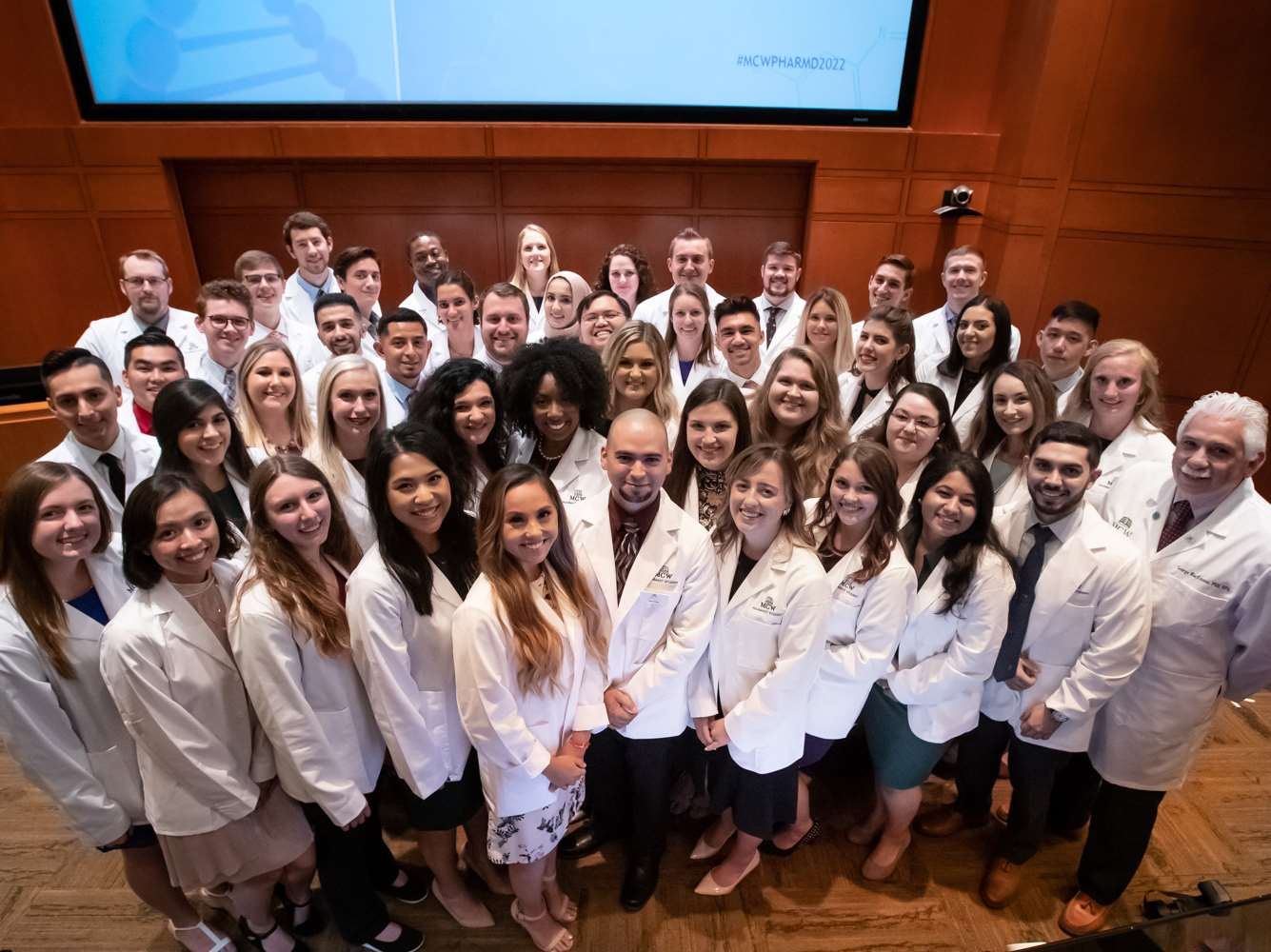 2019 MCW School of Pharmacy White Coat Ceremony