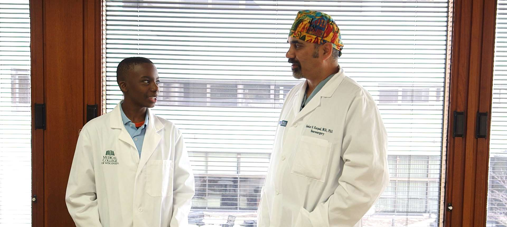 Aremontae Rawls and Shekar Kurpad, MD, PhD