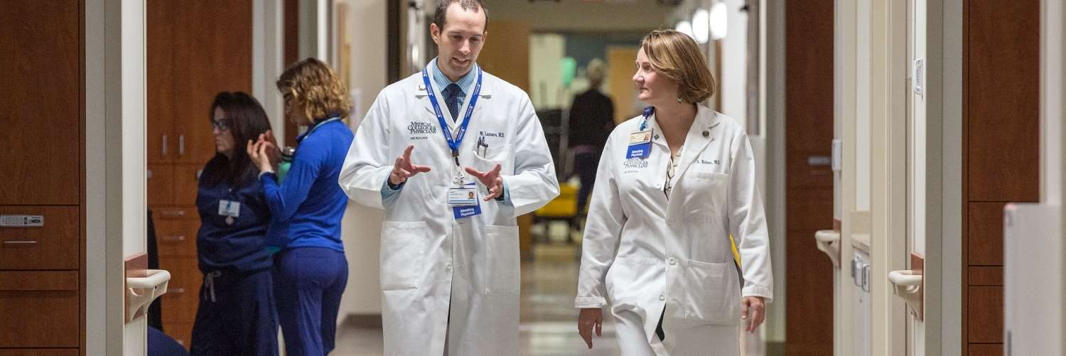 Dr. Marc Lazzaro and Dr. Ann Helms discuss care of an acute stroke patient by members of MCW's stroke, neurointervention and critical care team in the department of neurology.