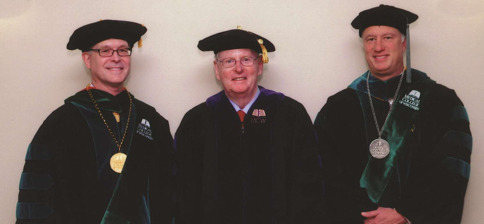 Mike Bolger receiving honorary degree at 2012 MCW Commencement ceremony