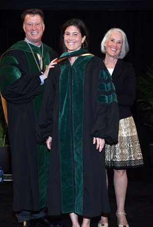 Allison Taylor MCW medical school hooding