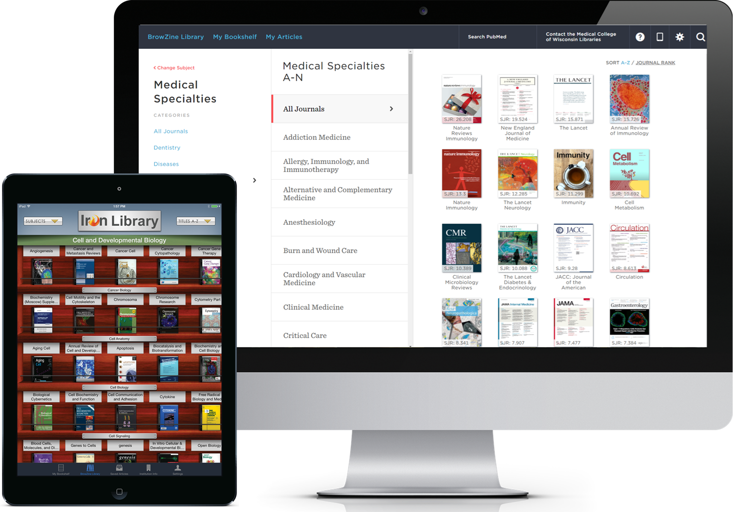 Browzine MCW Libraries