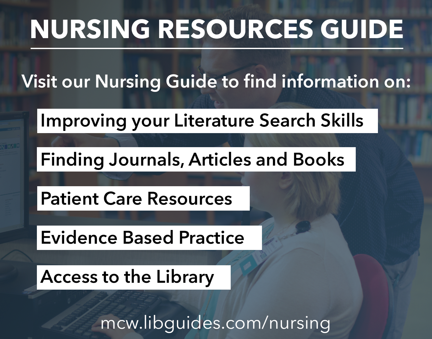 Nursing Resources MCW Libraries Featured Resource