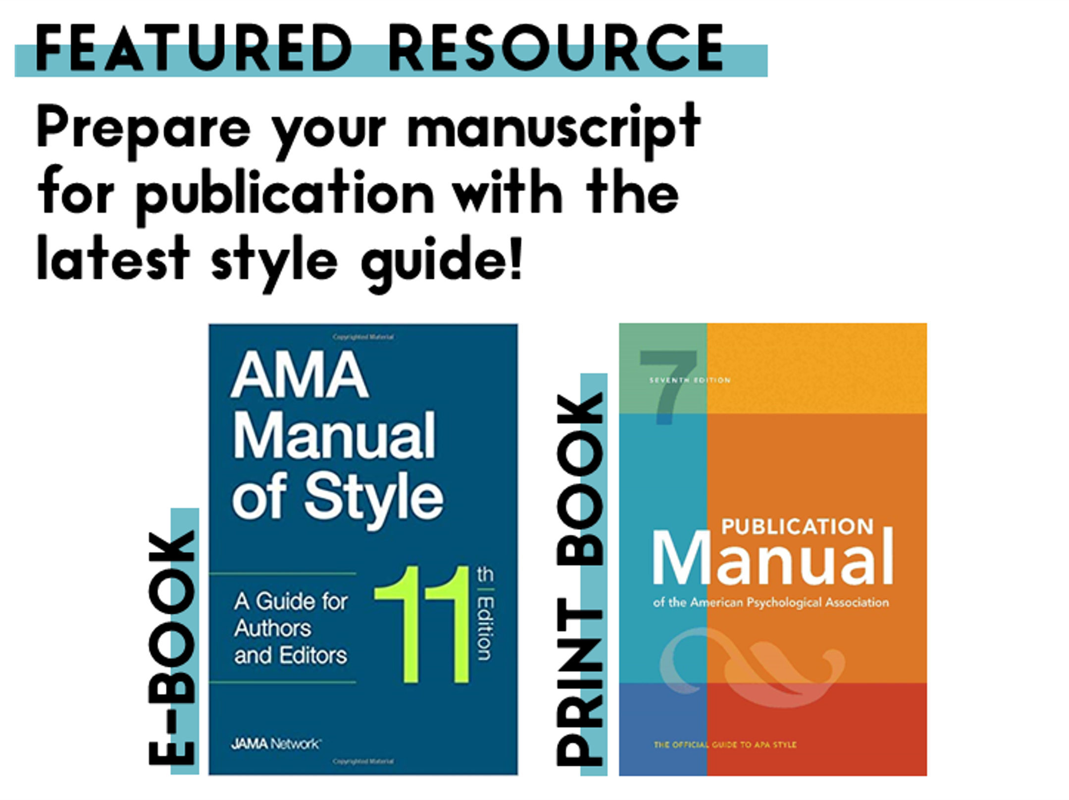 AMA Manual of Style, APA Publication Manual