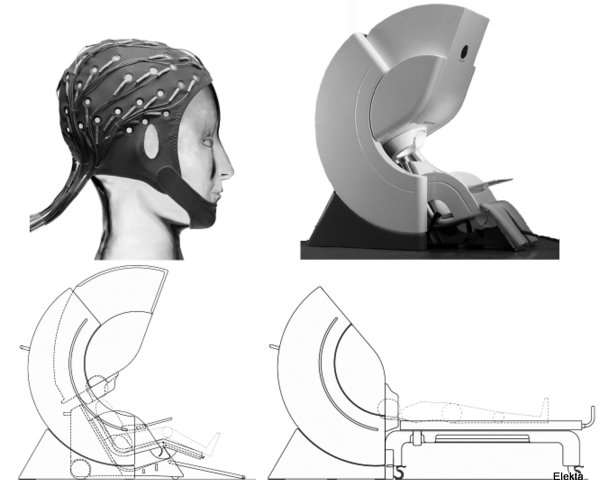 Views of our EEG and MEG devices