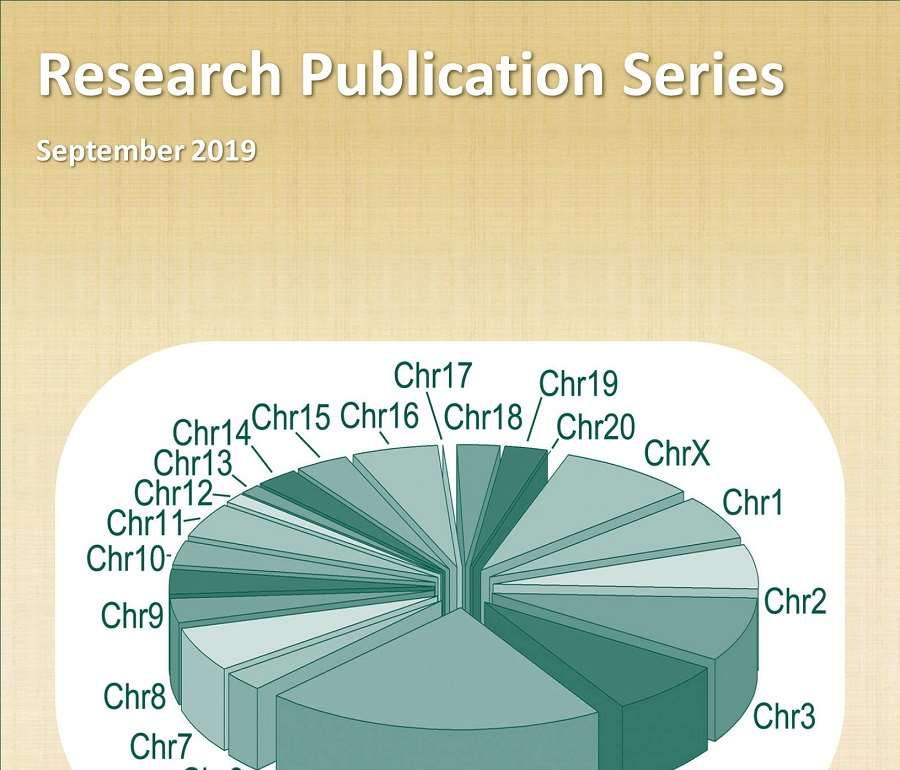 Research Publication Series September 2019 Cover Image