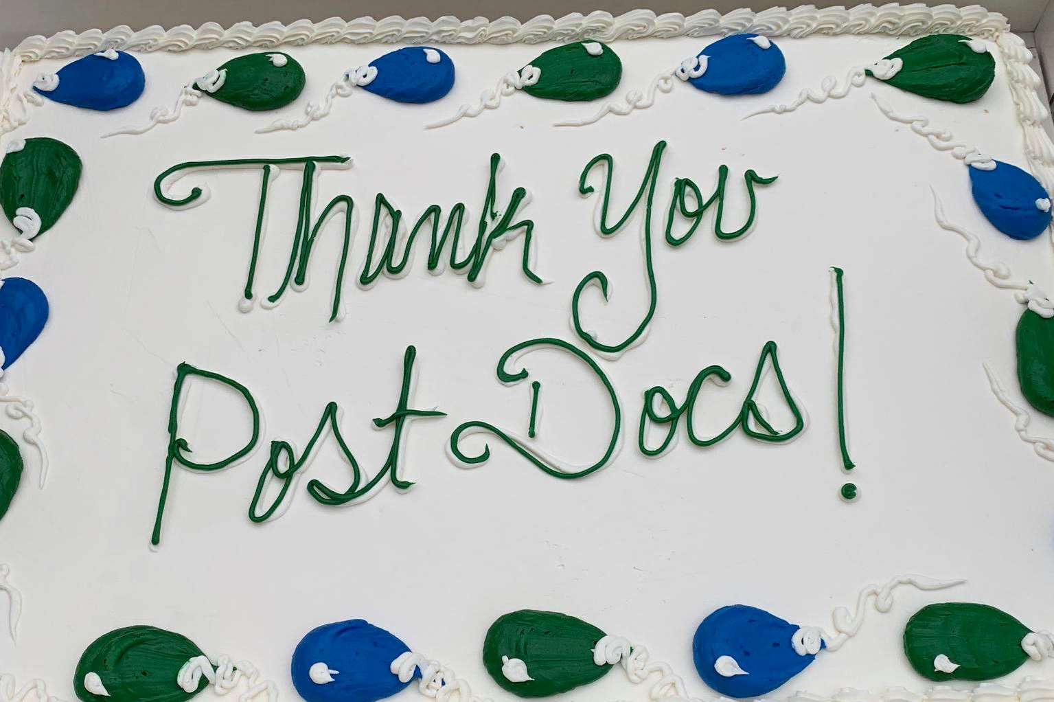 Thank you MCW postdocs
