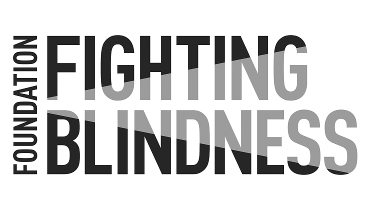 Fighting blindness foundation logo
