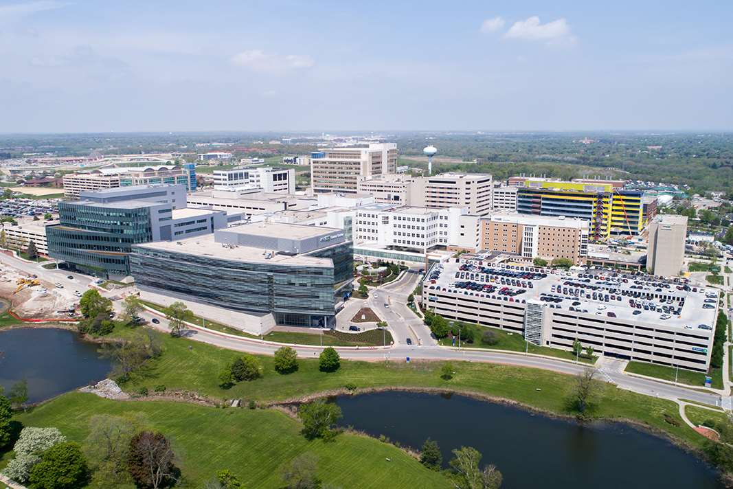 Medical College of Wisconsin-Milwaukee, MRMC aerial view