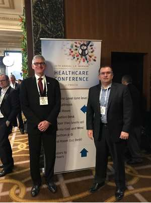 MCW attendees at the 2018 J.P. Morgan Healthcare Conference